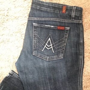 Denim - 7 For All Mankind Bootcut Jeans